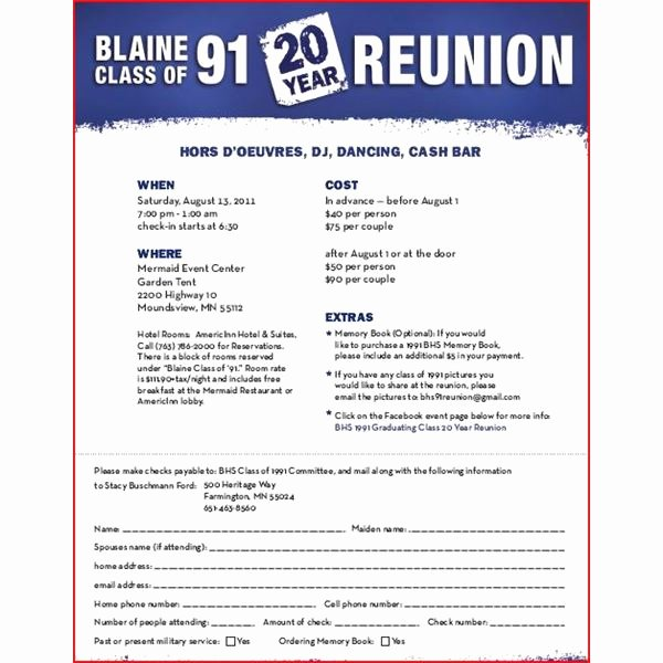 Reunion Invitation Templates Free Fresh Class Reunion Invitation Templates