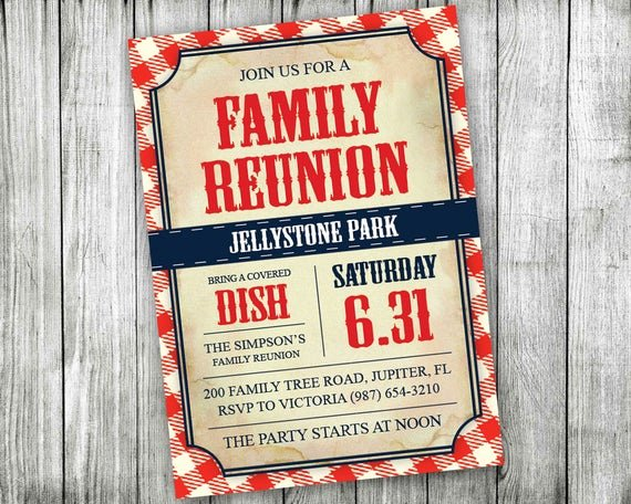 Reunion Invitation Templates Free Luxury Printable Family Reunion Invitations Backyard Bbq