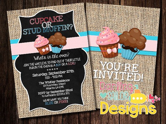 Reveal Party Invitation Ideas New Creative & Unique Gender Reveal Party Invitation Ideas