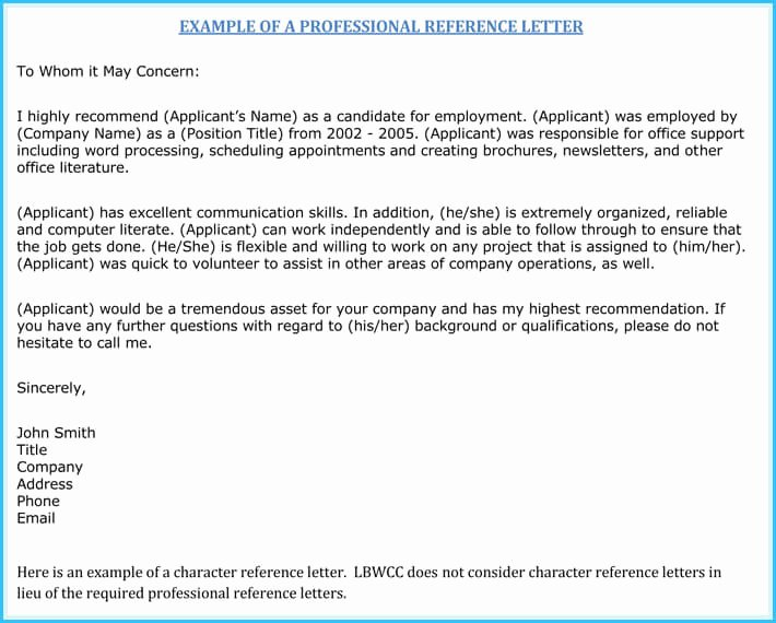 Rn Letter Of Recommendation Luxury Nursing Reference Re Mendation Letters 9 Sample Letters