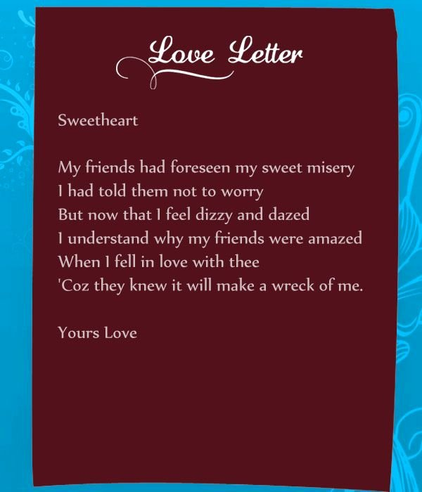 Romantic Letters for Her Awesome Funny Love Letters for Her Can Be A Real Mood Setter for A