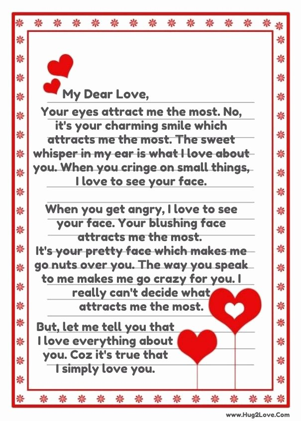 Romantic Letters for Her Elegant Romantic Love Letters for He Images