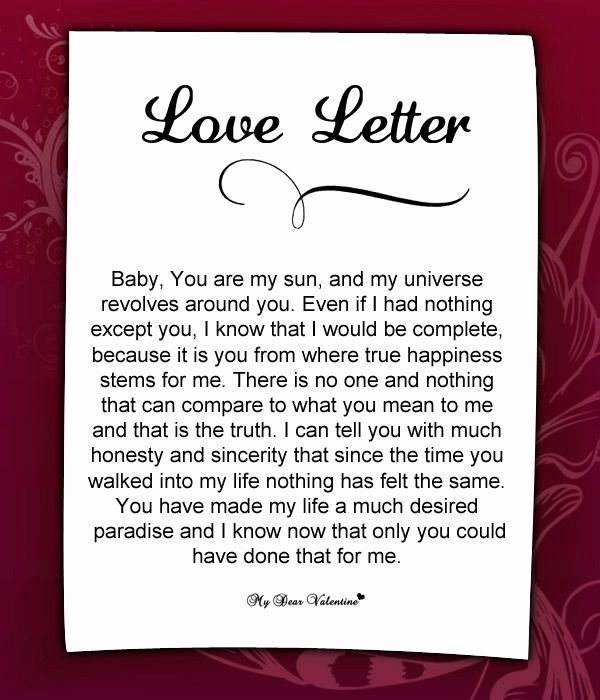 Romantic Letters for Her Inspirational Love Letter for Her 55 Love Letters for Her