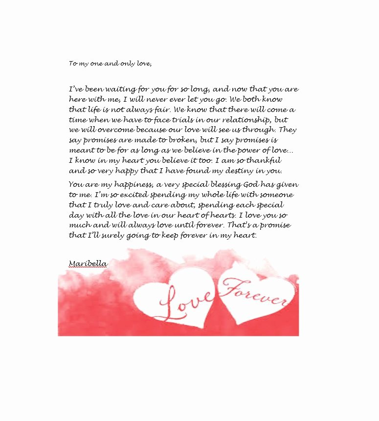 Romantic Letters for Him Beautiful 45 ♥ Romantic Love Letters for Her & for Him