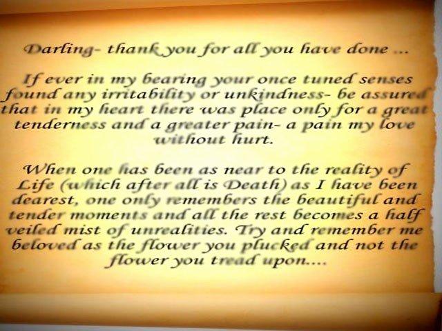 Romantic Letters for Him Fresh Ruttie's Love Letter to Jinnah – the Express Tribune Blog