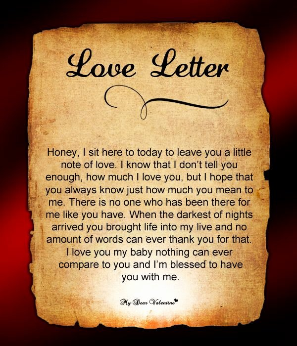 Romantic Letters for Him Luxury Love Letter for Him 86