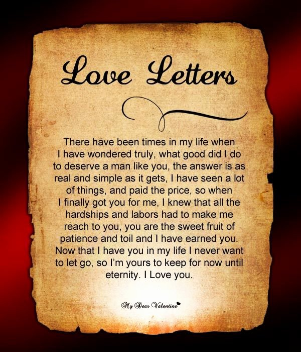 Romantic Letters for Him New Love Letters for Him 2 Love Letters for Him
