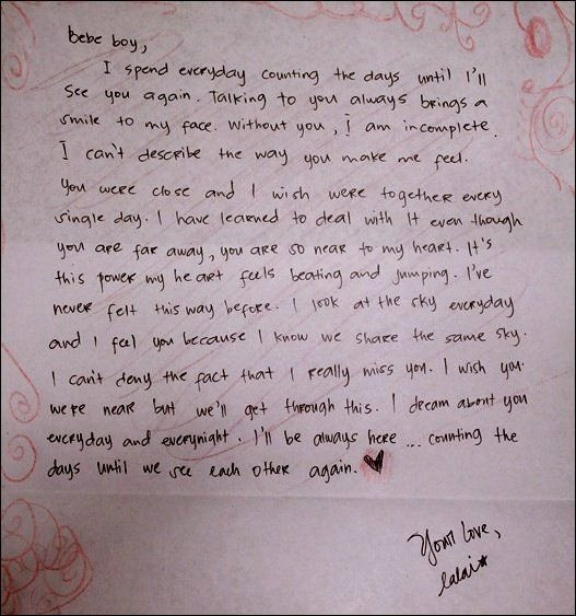 Romantic Love Letter for Him Fresh 10 Romantic Love Letters for Him