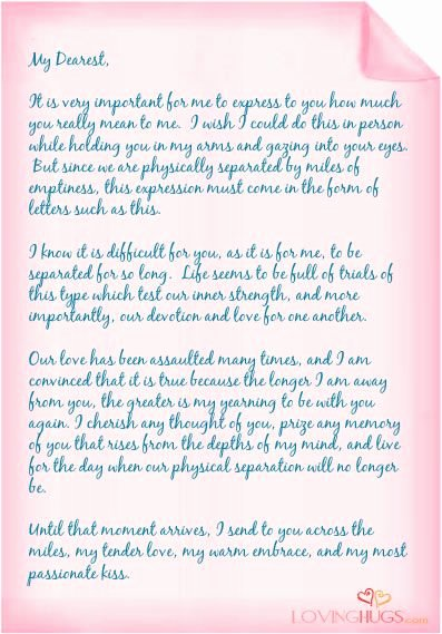 Romantic Love Letter for Him Lovely why I Love You Notes Love Letters True Love