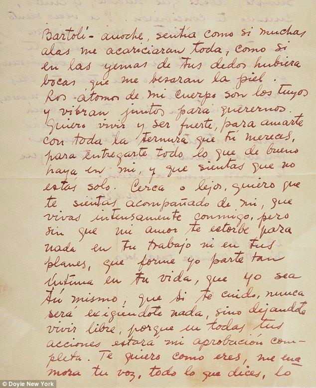 Intimate details artist Frida Kahlo s passionate affair secret lover revealed romantic love letters