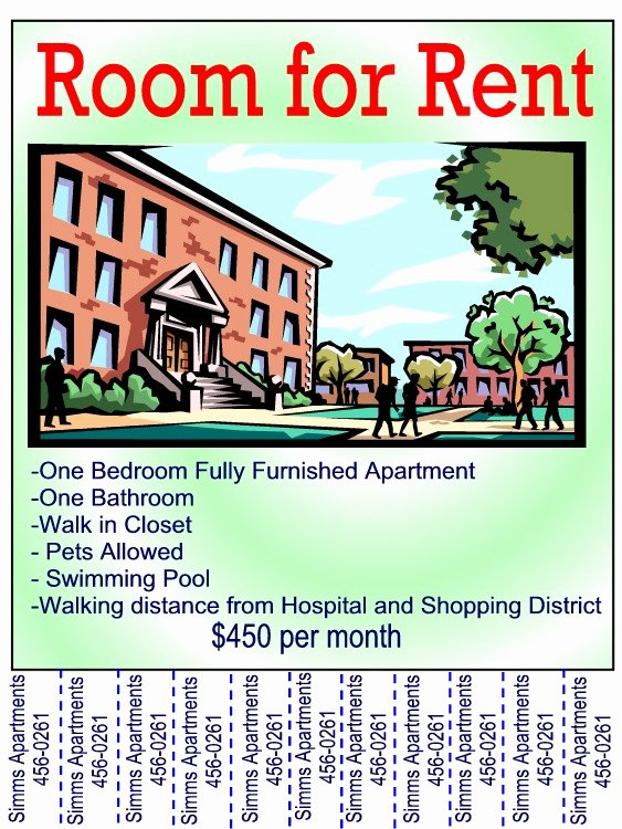 Room for Rent Flyers Unique Ads Etc Page 2