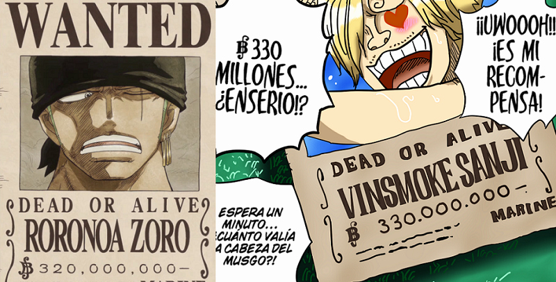 Roronoa Zoro Wanted Poster Lovely Sanji's New Bounty is Higher Than Zoro's – Op Fanpage