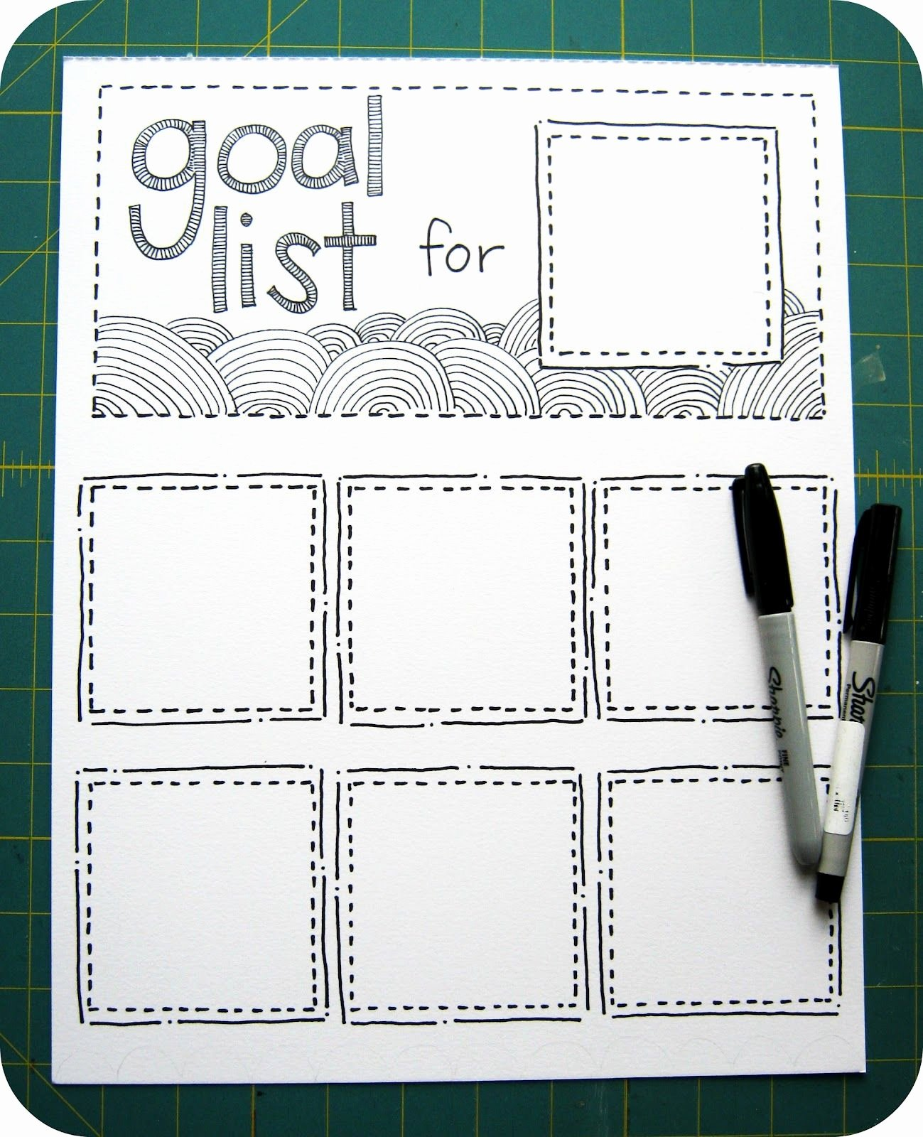 Rotating Chore Chart Template Beautiful Cornflower Blue Diy Rotating Goal List