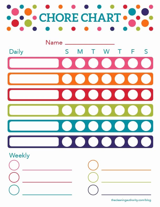 Rotating Chore Chart Template Lovely Free Printable Summer Chore Chart