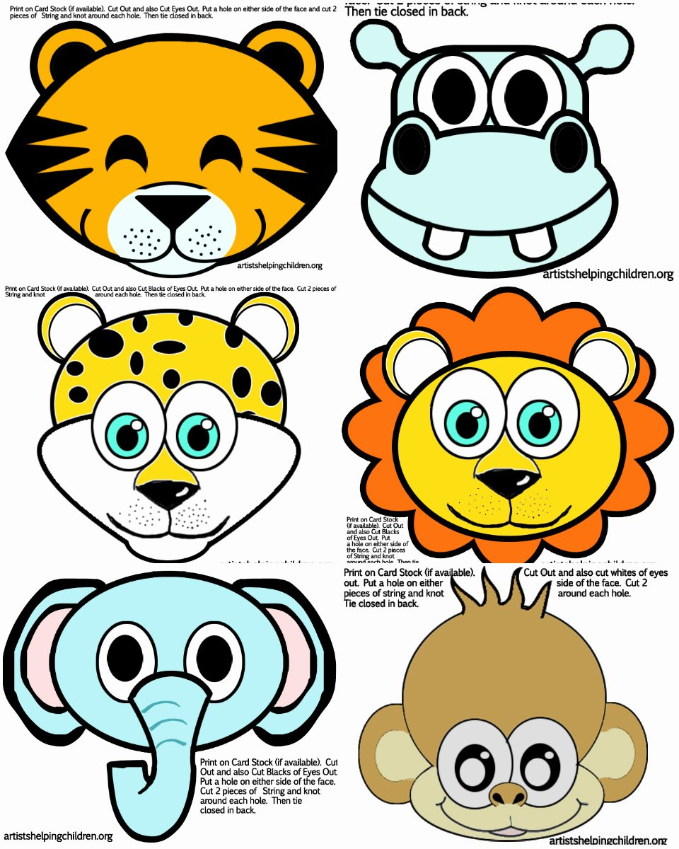 Safari Animal Cutouts Free Best Of Safari Jungle themed First Birthday Party – Cheap Party