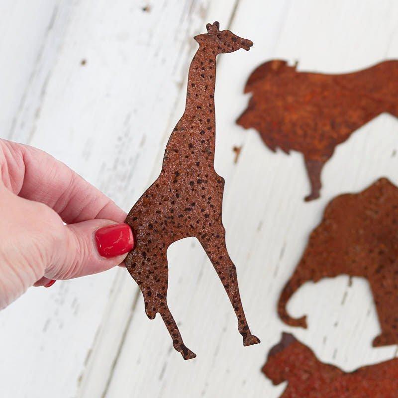 Safari Animal Cutouts Free Elegant Rusty Tin Safari Animal Cutouts Rusty Tin Cutouts
