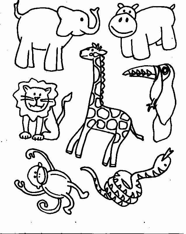 Safari Animal Cutouts Free New Animal Template Category Page 1 Spelplus