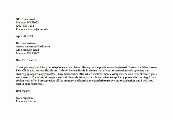 Salary Negotiation Letter to Employer Beautiful Sample Counter Fer Letter 6 Free Documents Download