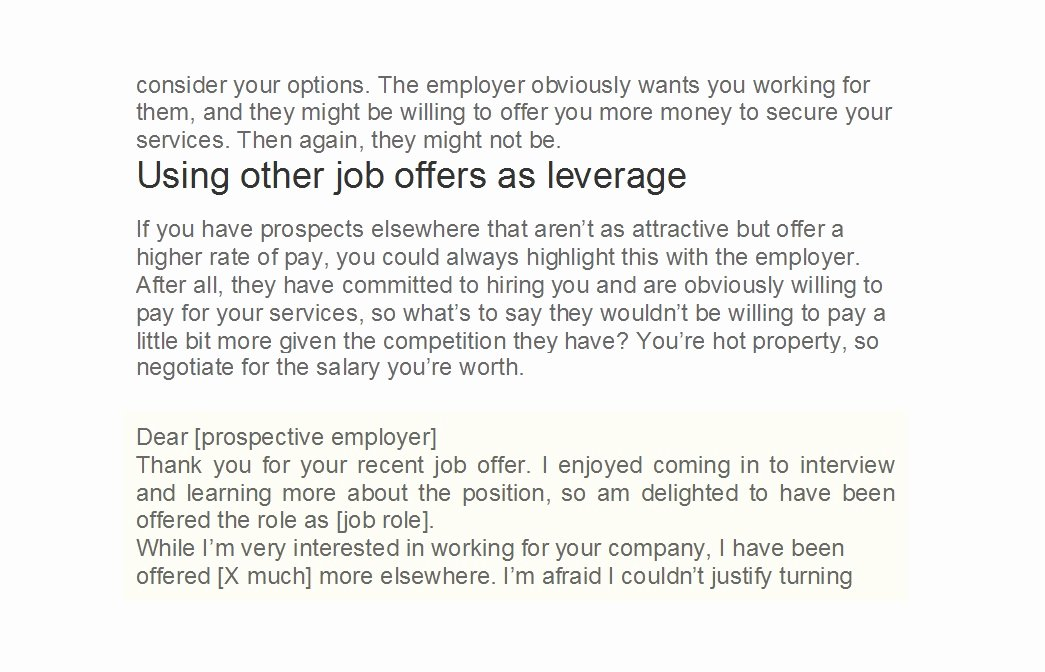 Salary Negotiation Letter to Employer Lovely 49 Best Salary Negotiation Letters Emails & Tips