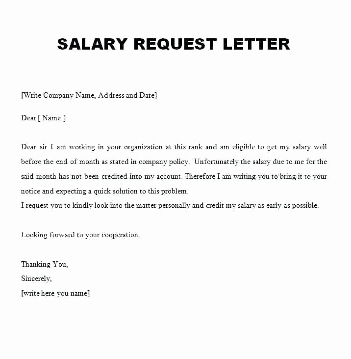 Salary Negotiation Letter to Employer Lovely Salary Negotiation Letter