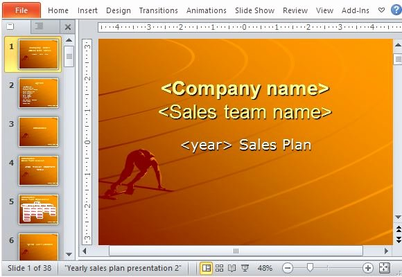 Sales Presentation Powerpoint Examples Awesome Yearly Sales Plan Templates for Powerpoint