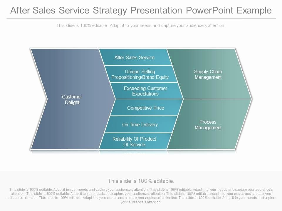 Sales Presentation Powerpoint Examples Luxury after Sales Service Strategy Presentation Powerpoint