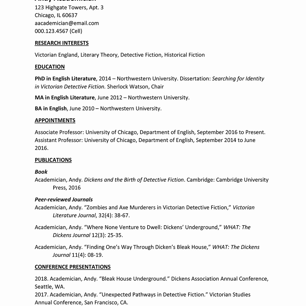 Sample Academic Curriculum Vitae Inspirational Free Microsoft Curriculum Vitae Cv Templates