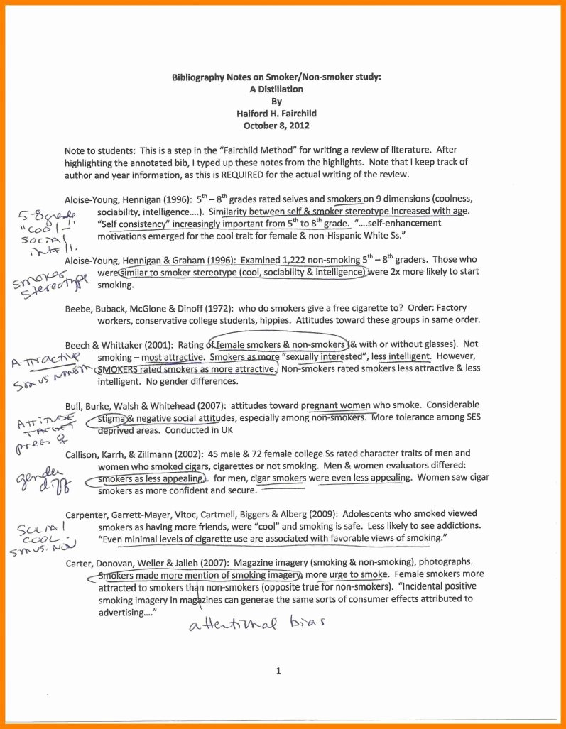 Sample Apa Annotated Bibliography Awesome Apa Annotated Bibliography Example