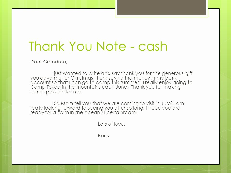 Sample Birthday Thank You Notes Lovely Thank You for Money Gift – Emmamcintyrephotography