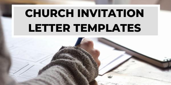 Sample Church Invitation Letter Luxury Church Invitation Letters Invitation to Church event
