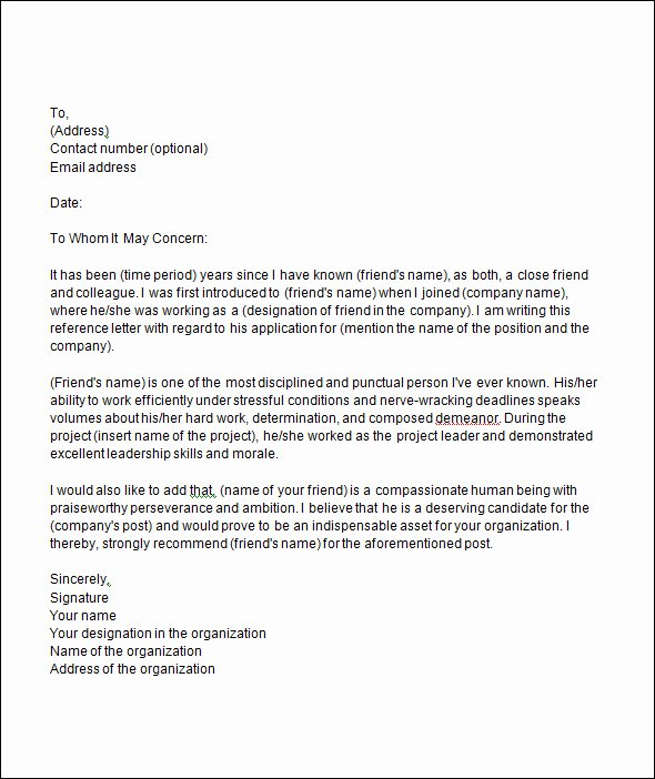 Sample College Recommendation Letter Awesome Free 20 College Re Mendation Letters In Pdf