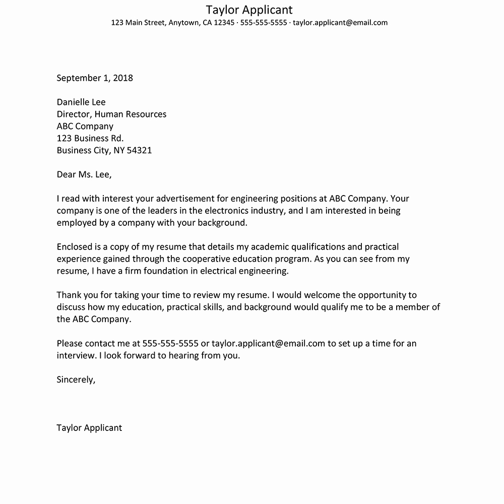 Sample Cover Letters Entry Level Awesome Basic Cover Letter Template for Entry Level Jobs