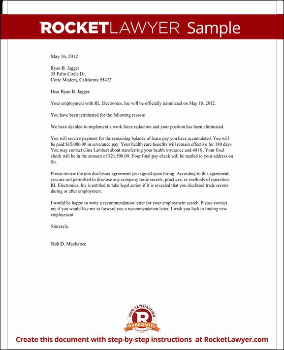 Sample Demotion Letter to Employee Beautiful What is A Termination Letter