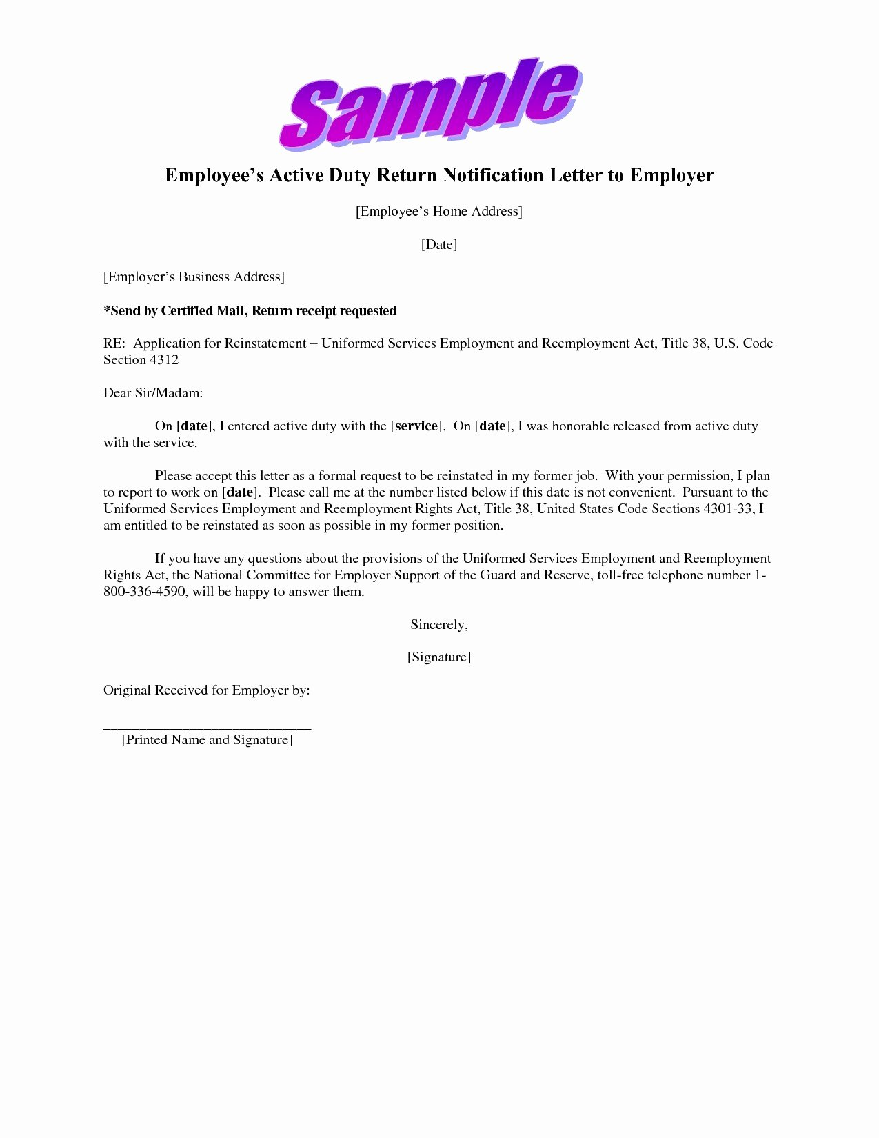 Sample Demotion Letter to Employee Luxury Demotion Letter Template