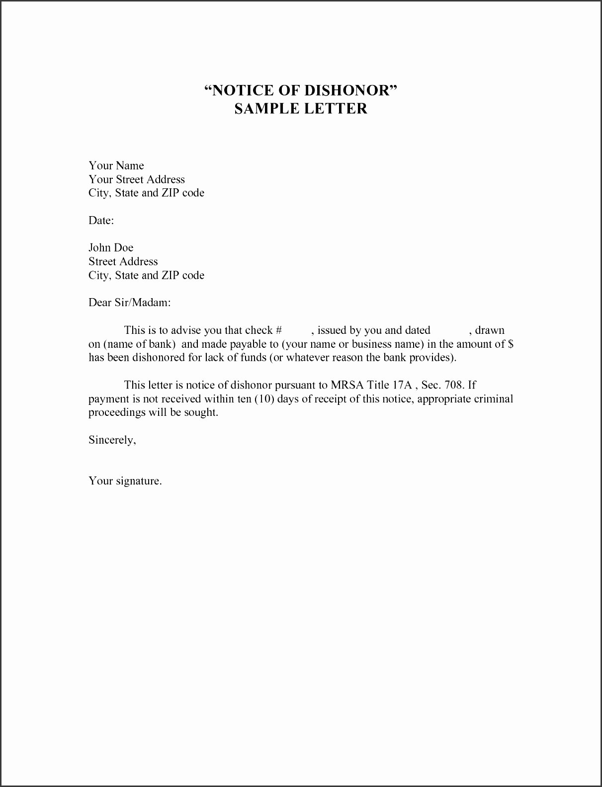 Sample Demotion Letter to Employee New 10 Demotion Letter Template Sampletemplatess