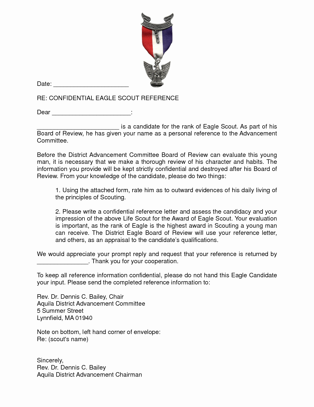 Sample Eagle Scout Recommendation Letter New Best S Of Eagle Scout Re Mendation Reference Letter