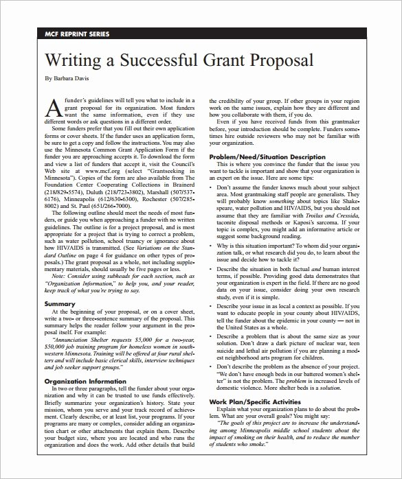 Sample Education Grant Proposal Lovely Grant Proposal Template 19 Free Sample Example format