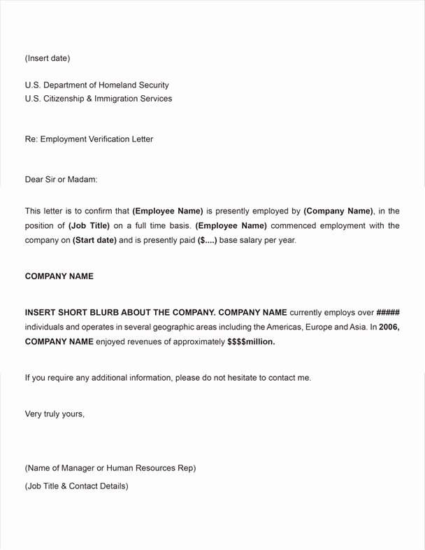 Sample Employee Verification Letter Lovely 11 Employee Verification Letter Examples Pdf Word