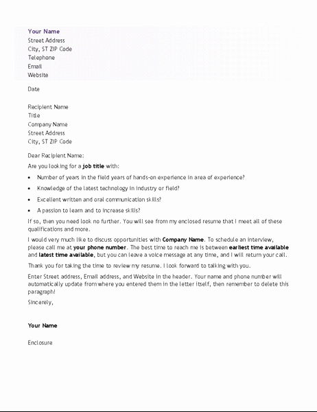 Sample Entry Level Cover Letters Unique Resumes and Cover Letters Fice