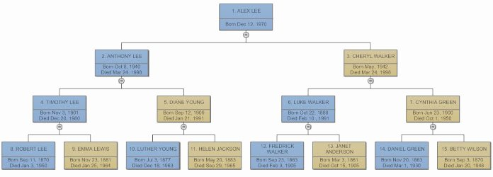 Sample Family Tree Chart Fresh Family Tree Everything You Need to Know to Make Family Trees