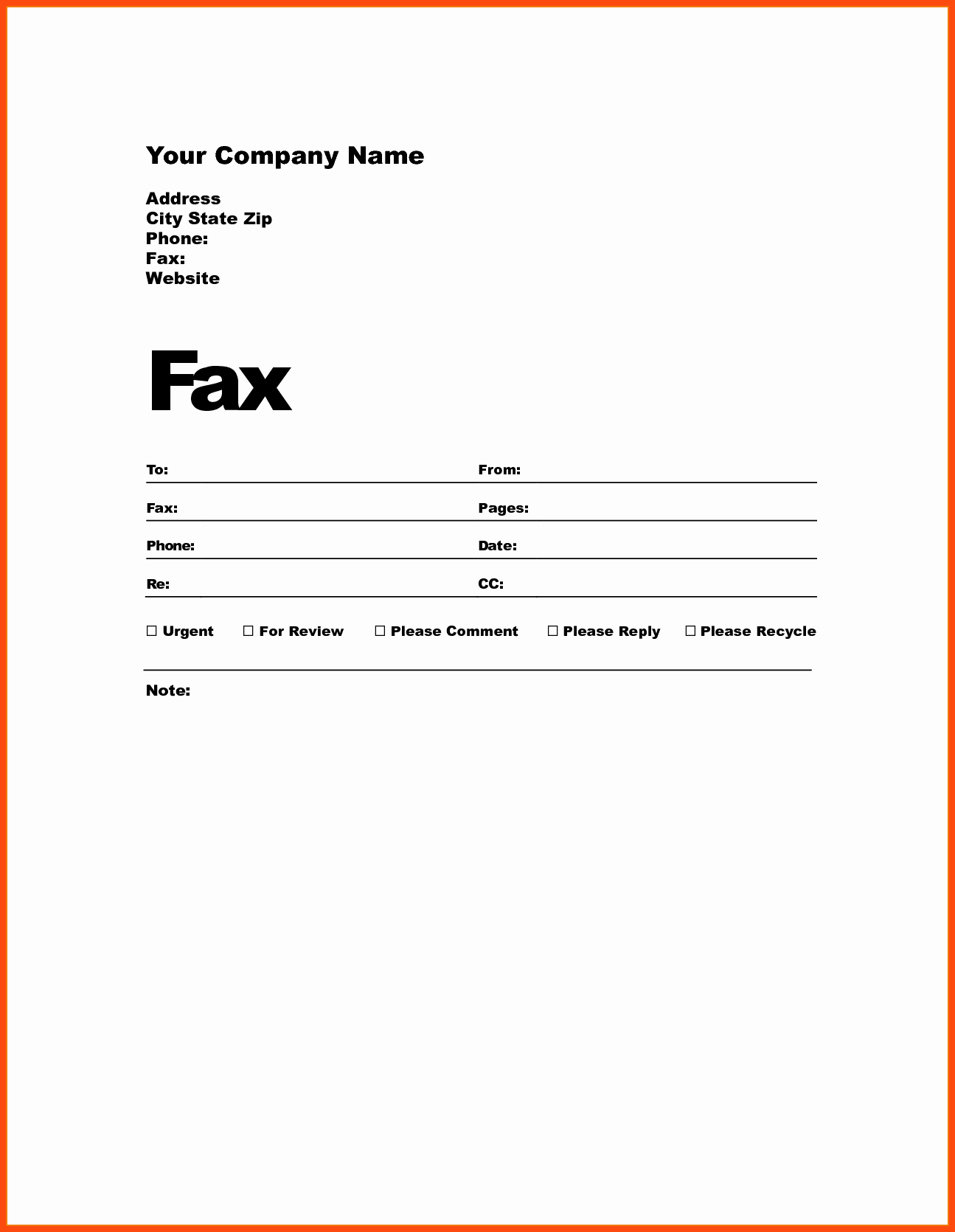 Sample Fax Cover Sheets Elegant Professional Fax Cover Sheet