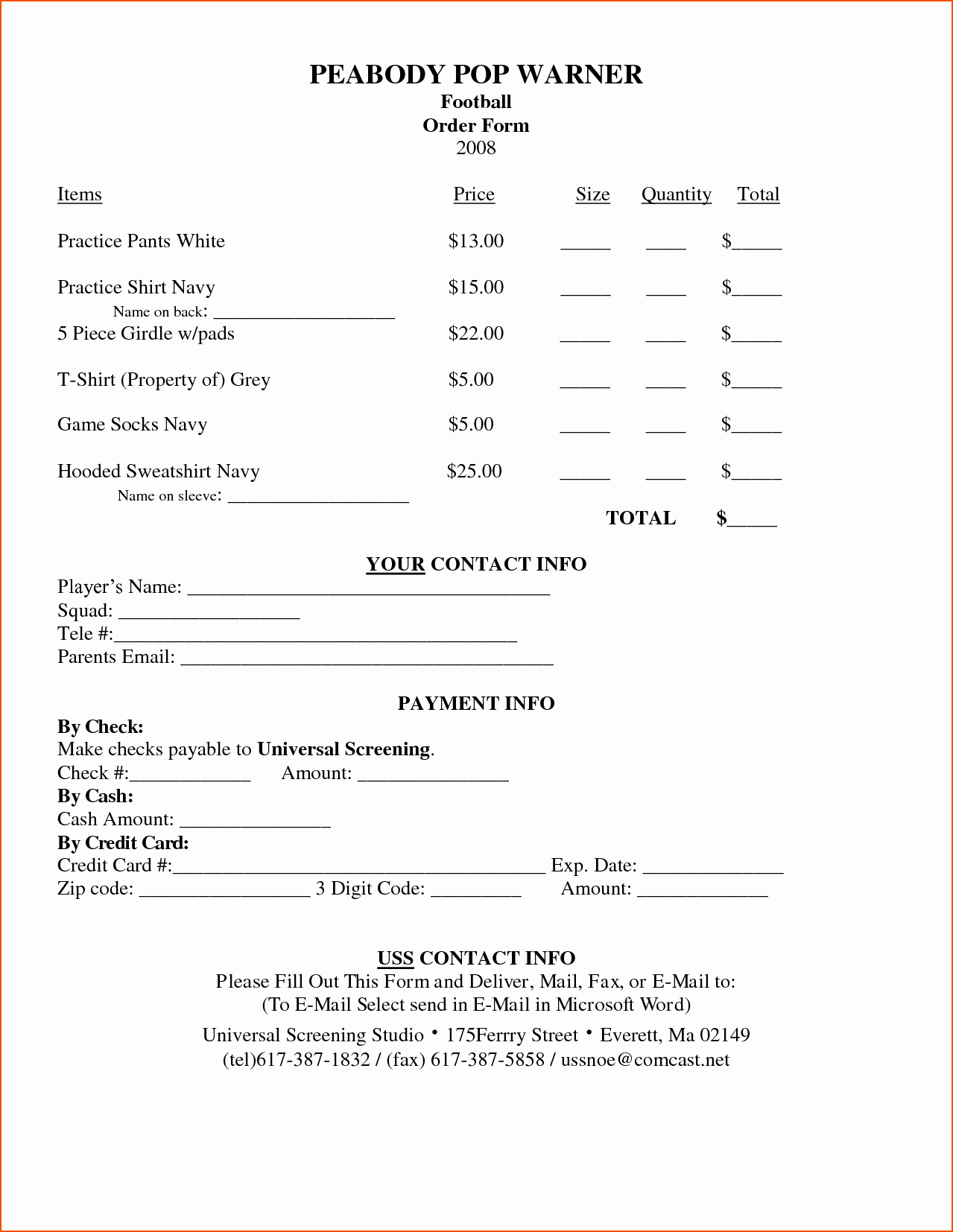 Sample forms In Word Fresh 3 order form Template Word Bookletemplate