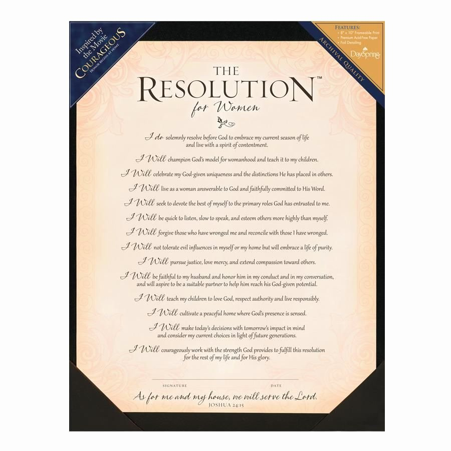 Sample Funeral Resolutions Templates Awesome My Courageous Resolution