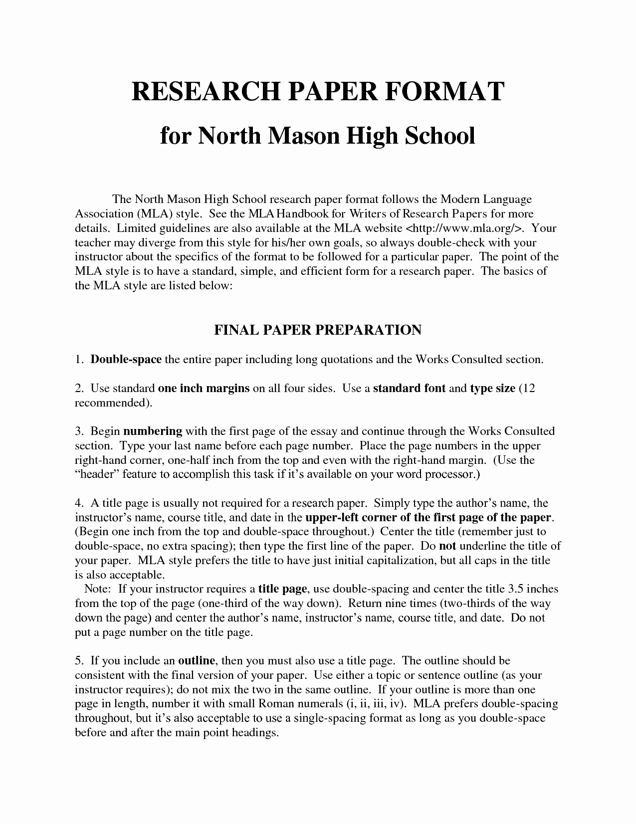 Sample High School Research Paper Awesome Term Research Paper High School Research