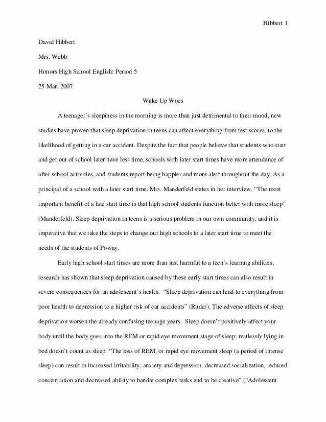 Sample High School Research Paper Beautiful Sample Research Paper