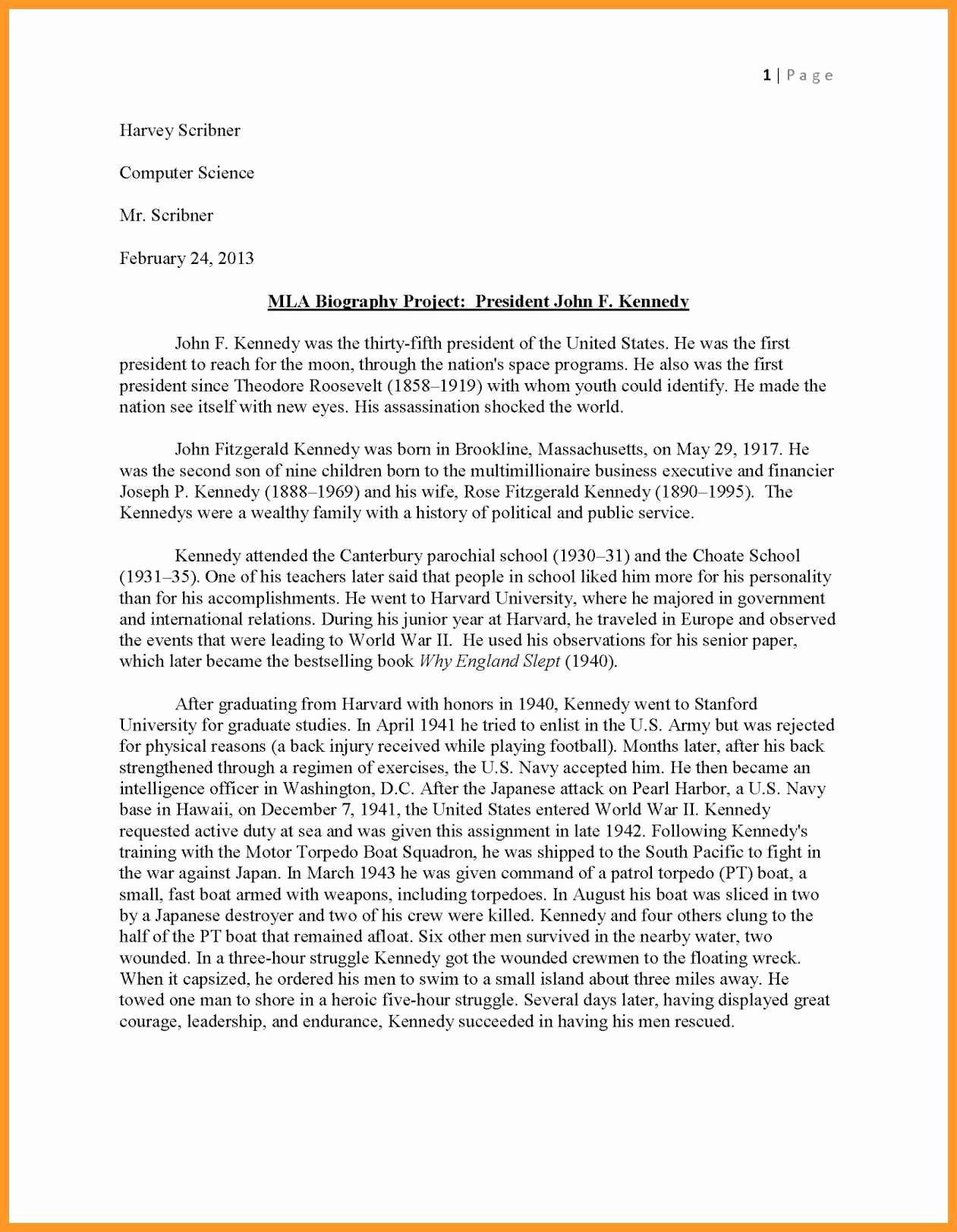 Sample High School Research Paper Best Of 12 13 Sample Mla Research Paper High School