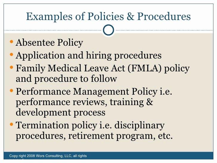 Sample Human Resource Policies Inspirational Fundamentals Human Resources