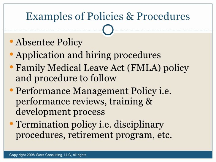 Sample Human Resource Policy Elegant Fundamentals Human Resources