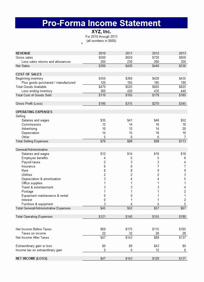 Sample Income Statement format New 41 Free In E Statement Templates & Examples Template Lab