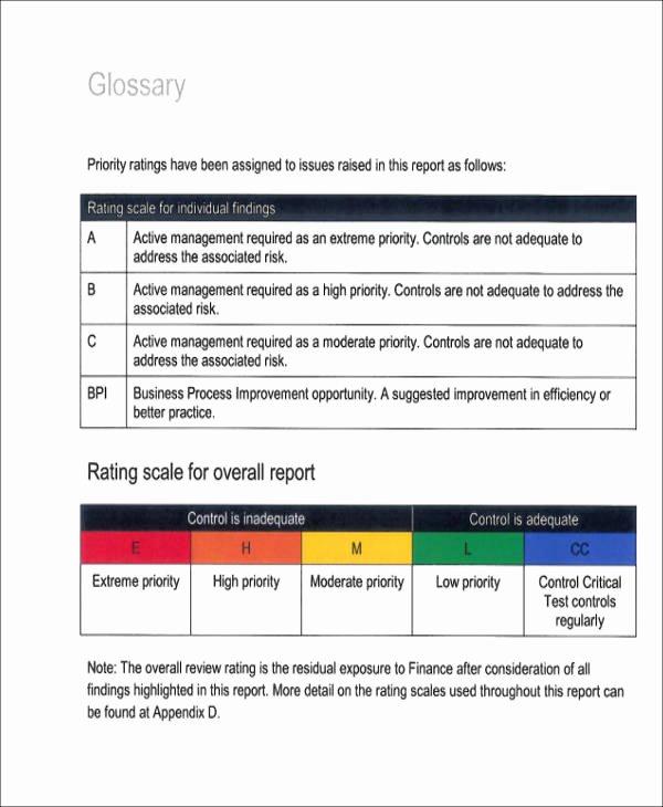 Sample Internal Audit Report Beautiful 15 Sample Internal Audit Reports Word Pdf Pages